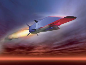 X-51 AIR-Hypersonic-flight